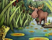 Augie the Moose- Children's Picture Book