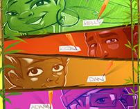 Various comic books