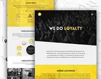 New Website for Goldmarie & Friends