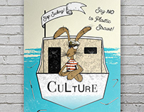 Poster & Post Card for Culture Cafe