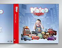 Libro personalizado de Cars/  Custom Tale Book