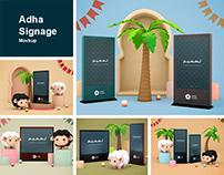 Adha Signage Mockup
