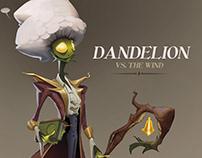 DANDELION VS THE WIND