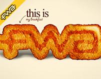 The FWA Wallpaper Awards - My Breakfast