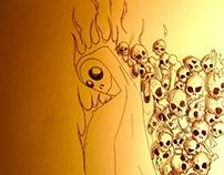 Mortality Pen & Ink