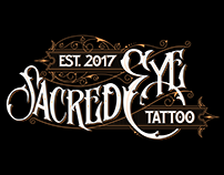 SACREDEYE TATTOO LOGO