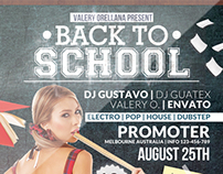 Back to School 01 | Flyer Template