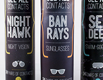 See All Contacts: Fictional Package Design