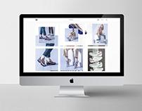 Dirección arte para marca de zapatillas life style