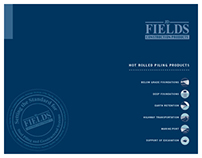 JD Fields Construction Products Brochure