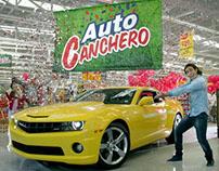 """Santa Isabel, comercial """"Auto Canchero"""""""
