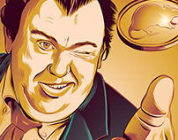 """Uncle Buck"" John Candy Tribute Poster"