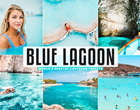 Free Blue Lagoon Mobile & Desktop Lightroom Presets