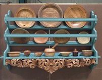 Acanthus plate rack