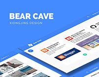 Bear Cave | Web APP