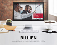 Billien web concept