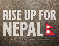 Nepal Earthquake Poster