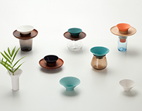 Ceramic Wood & Glass