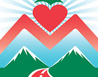 Marathons with Meaning Logo Design