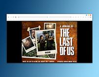 "Infográfico: a jornada de ""The Last of Us"""