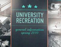 University Recreation General Info Bifold
