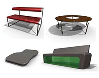Street furniture for the university campus