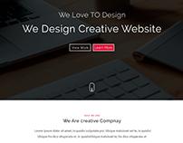 Web Template (redesign) Ui design