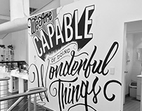 Wonderful Things - Mural