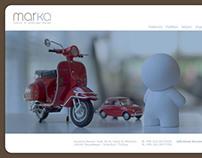 Mar-ka Interior Design Studio Website