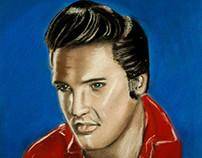 Elvis Presley Pastel