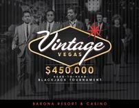 Vintage Vegas Intro Animation & Microsite