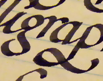 Lecture Calligraphy