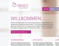 Zimballo Kindergarten Website Layout