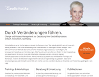 Claudia Kostka Consultancy Website