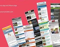 WAP site design