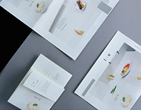 Menu design for Summerview Hotel