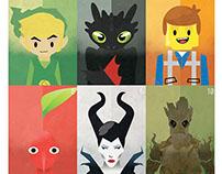 Pop Culture Art Cards