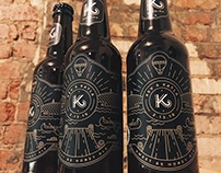 K2 Beer Labels