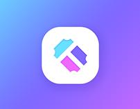 Tixxi - Logo & app icon design