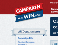 Campaign and Win - Logo & Website