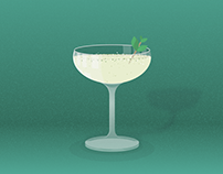 The Mix: Cocktail Illustrations