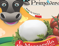 Primavera Dairy Production (Print Design)