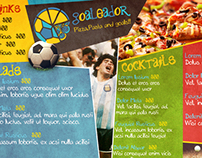 Goaleador Restaurant Branding