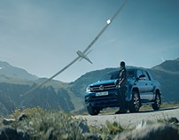 The new Amarok. In its most spectacular stunt.