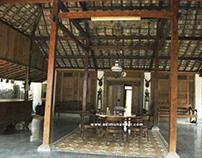 Rumah Etnik Jawa di Mojokerto