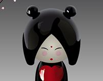 Love Kokeshi
