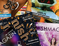 Nish Magazin naslovne / Nish Magazine covers