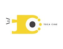 Toca Cine | Identidade visual