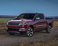Jeep Wagoneer pickup 2023