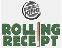BURGER KING: Rolling Receipt